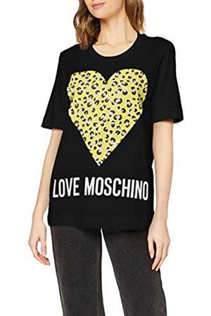 Love Moschino Women's T-Shirt_Animalier Printed Heart