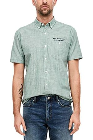 s.Oliver Men's Hemd Kurzarm Shirt