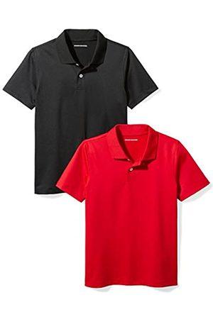 Amazon Essentials Boys' 2-pack Performance Polo Shirt