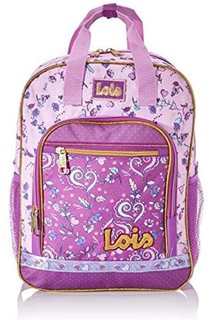 Lois Padded and Stamped Kids School Backpack with Top Handle and Adjustable Strips. Resistant and Lightweight Ideal for School or Trip. School. 130205
