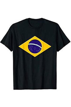 Miftees Brazil flag novelty Brazil flag symbol T-Shirt
