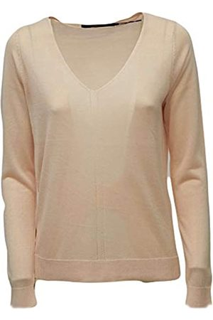 Vero Moda Women's Vmlina Ls V-Neck Blouse Boo Sweater