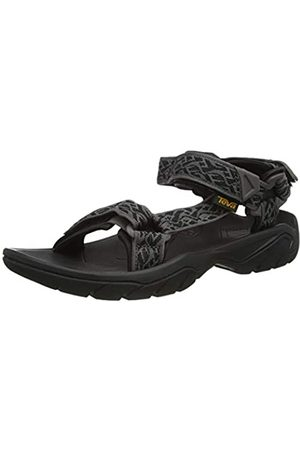 Teva Men's Terra FI 5 Universal Open Toe Sandals, (Wavy Trail Wtbc)