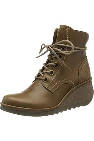 Fly London Women's NURE195FLY Combat Boots, (Camel 007)