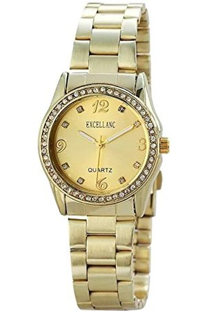 Excellanc Womens Analogue Quartz Watch with Stainless Steel Strap 1.52304E+11