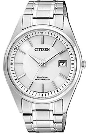 Citizen Men's Analogue Solar Powered Watch with Stainless Steel Strap AS2050-87A