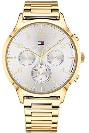 Tommy Hilfiger Unisex-Adult Multi dial Quartz Watch with Stainless Steel Strap 1781872
