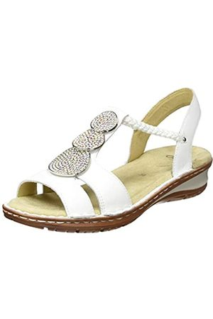ARA Women's Hawaii T-Bar Sandals, (Weiss 76)