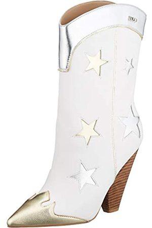 Liu Jo Women's Guenda 21-Bootie Nappa Cowboy Boots, ( 01111)