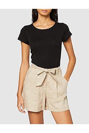New Look Women's 1X1 RIB LI TEE Shirt