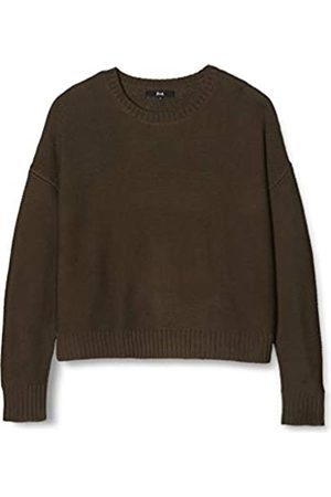 FIND Women's Drop-shoulder Knit Jumper