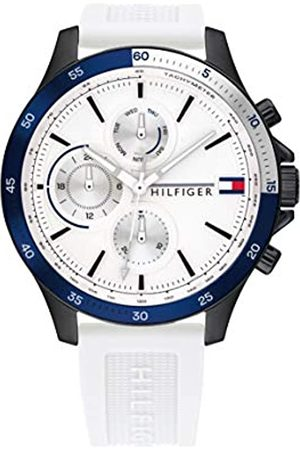 Tommy Hilfiger Men's Analogue Quartz Watch with Silicone Strap 1791723