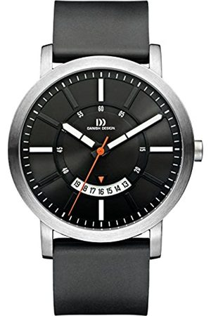 Danish Designs Danish Design Men's Quartz Watch with Dial Analogue Display and Rubber Strap DZ120270