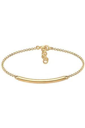 Elli Women's 925 Sterling Silver Strand Bracelet 0212530417_16 - 16cm length