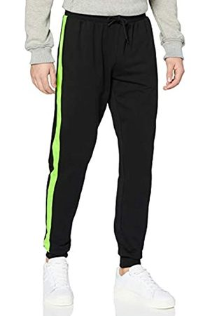 Urban Classics Men's Jogging-Hose Neon Striped Sweatpants Dress Pants