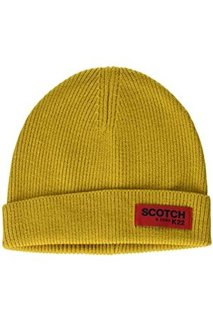 Scotch & Soda Men's Classic Rib Knit Beanie Baseball Cap