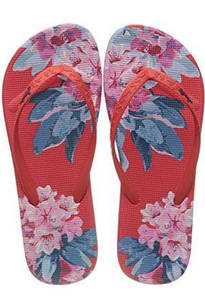 Joules Women's Flip Flops, ( Floral Floral)