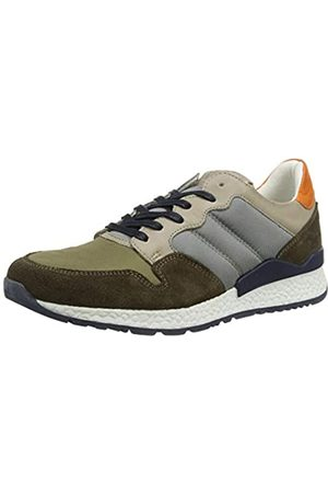 Mustang Men's 4929-302-780 Low-Top Sneakers, (Khaki/Multi 780)