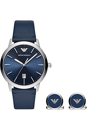Emporio Armani Quartz Watch with Leather Strap AR80032