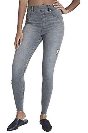 Spanx Womens Distressed Skinny Jean Leggins Base Layer Bottom