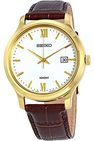 Seiko Men's Analogue Quartz Watch with Leather Strap SUR226P1