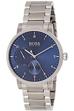 HUGO BOSS Unisex-Adult Multi dial Quartz Watch with Stainless Steel Strap 1513597