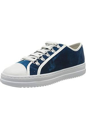 Geox Women's D Pontoise A Low-Top Sneakers, (Torquise/ C4332)