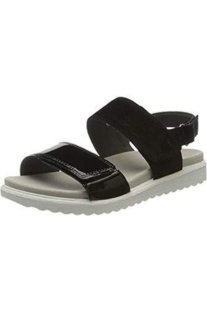 Legero Women's Savona Ankle Strap Sandals, (Schwarz (Schwarz) 00)
