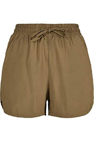Urban Classics Urban Classic Women's Shorts Ladies Viscose Resort Kurze Hose Casual
