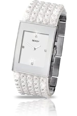 Sekonda Seksy Women's Quartz Watch with Dial Analogue Display and Plastic Strap 4853.37
