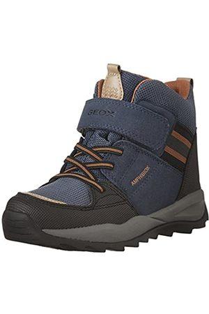 Geox J Orizont Boy Abx B, Boys' Snow Boots, Blau (NAVY/DK )