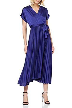 New Look Women's GO SATIN PLEATED MIDI DRESS Casual
