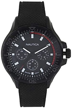 Nautica Men's Analogue Quartz Watch with Silicone Strap NAPAUC004