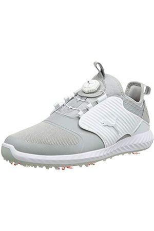 Puma Men's Ignite PWRADAPT Caged DISC Golf Shoes, (Gray Violet 01)