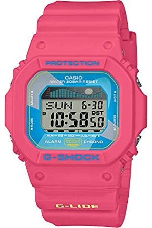 Casio Womens Digital Watch with Resin Strap GLX-5600VH-4ER