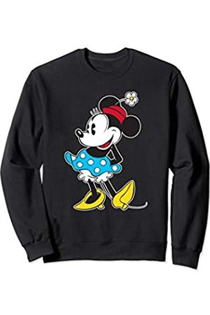 Disney Vintage Minnie Mouse in Pillbox Flower Hat Sweatshirt