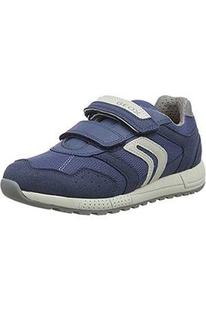 Geox J Alben Boy C Running Shoes, (Avio/ C4263)