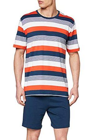Schiesser Men's Schlafanzug Kurz Pyjama Set
