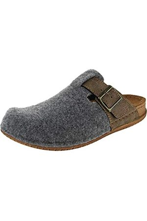 Fischer Men's Bodo Open Back Slippers, (Grau 666)