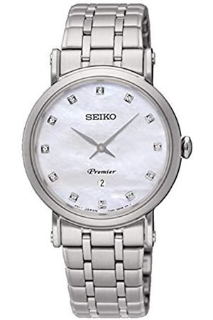 Seiko Womens Analogue Quartz Watch with Stainless Steel Strap SXB433P1