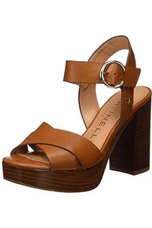 Martinelli Women's Streep 1487_V20 Platform Sandals, (Cuero Cuero)