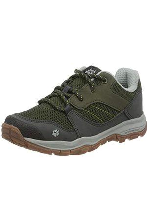 Jack Wolfskin Unisex Kids' MTN Attack 3 K Low Rise Hiking Shoes, (Khaki/Phantom 4287)