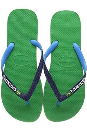 Havaianas Brasil Mix, Unisex Adults Flip Flop Flip Flops, (Leaf 2715)