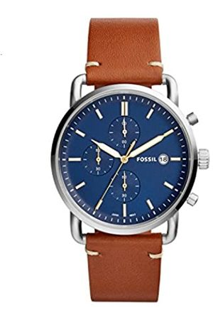 Fossil Men's Analogue Quartz Watch with Leather Strap FS5401