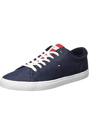 Tommy Hilfiger Men's Essential Long Lace Sneaker Low-Top, (Desert Sky Dw5)