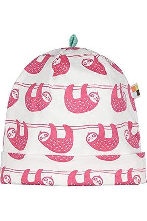loud + proud Baby Girls' Cap Allover Print Organic Cotton Hat