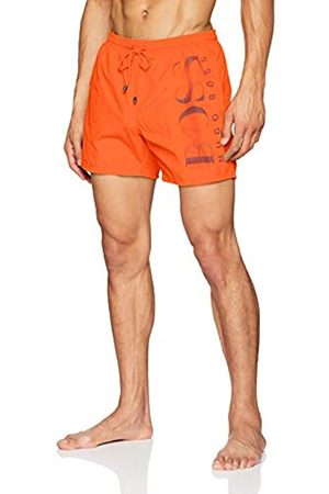BOSS Men's Octopus Swim Trunks, Bright 821)
