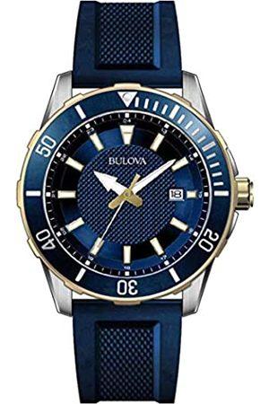 Bulova Men's Analogue Quartz Watch with Silicone Strap 98B345