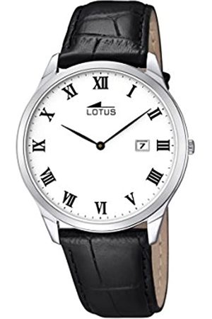 Lotus Men's Quartz Watch with Dial Analogue Display and Leather Strap 10124/3
