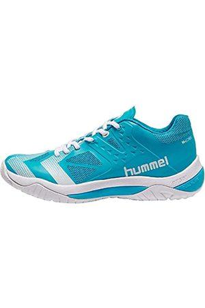 hummel Unisex Adults' Dual Plate Power Handball Shoes, Turquoise (Hawaiian Ocean 7060)